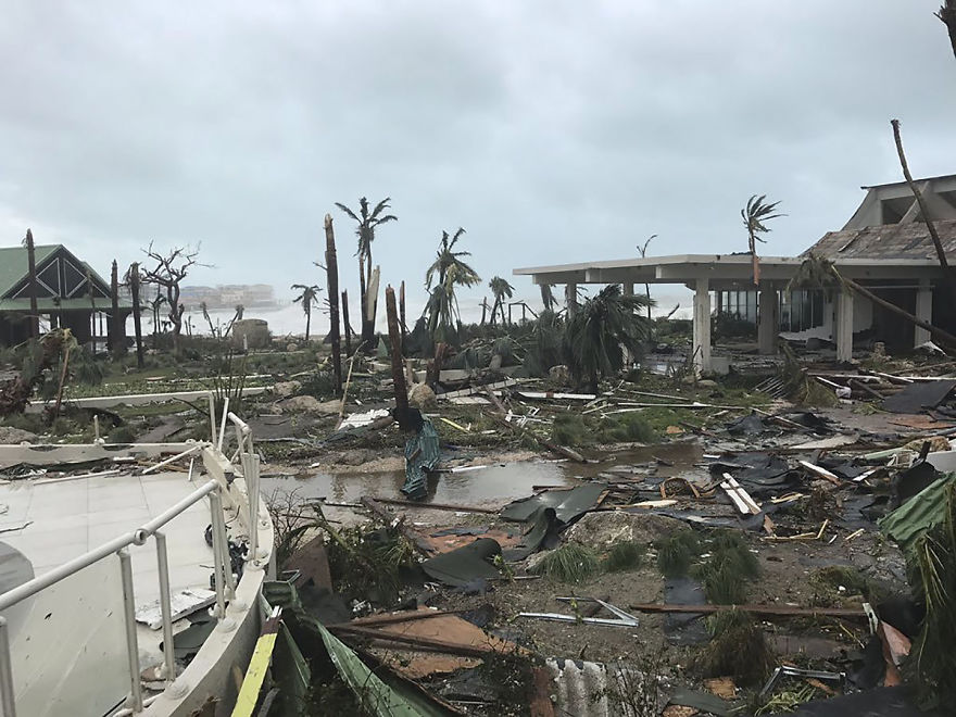 Aftermath Of Hurricane Irma In St. Martin
