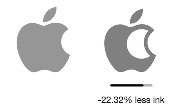"""less ink ecobranding logo design 3 59bf73c973fdd  700 - Logos mais suaves estão na """"moda"""""""