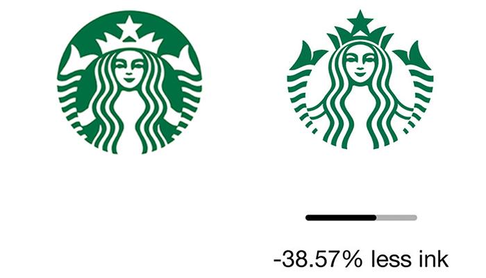 """less ink ecobranding logo design 59bf751bd3d63  700 - Logos mais suaves estão na """"moda"""""""