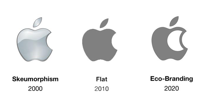"""less ink ecobranding logo design 59bf77f544950  700 - Logos mais suaves estão na """"moda"""""""