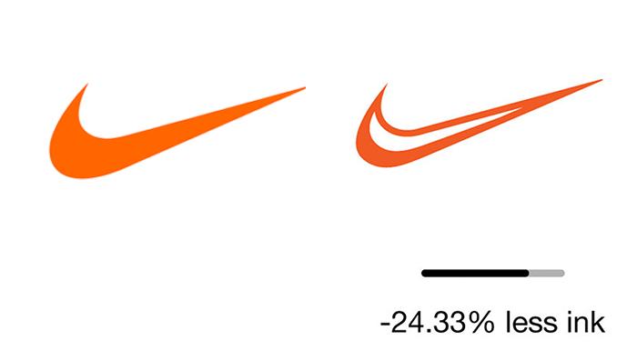 """less ink ecobranding logo design 8 59bf73c0cc91f  700 - Logos mais suaves estão na """"moda"""""""