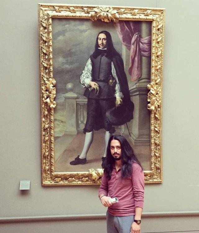 Found My Doppelgänger At The Louvre. Íñigo Melchor De Velasco