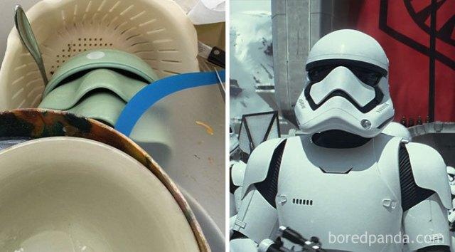 Encontré un soldado imperial mientras fregaba los platos