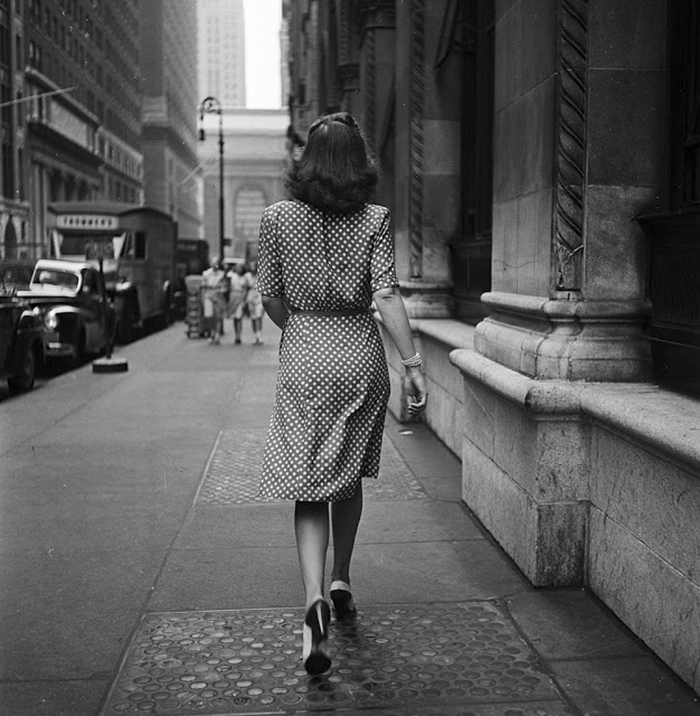 Walking The Streets Of New York, 1946
