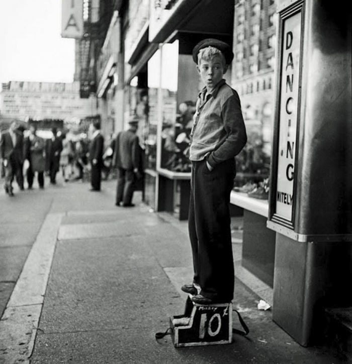 Shoe Shine Boy, 1940