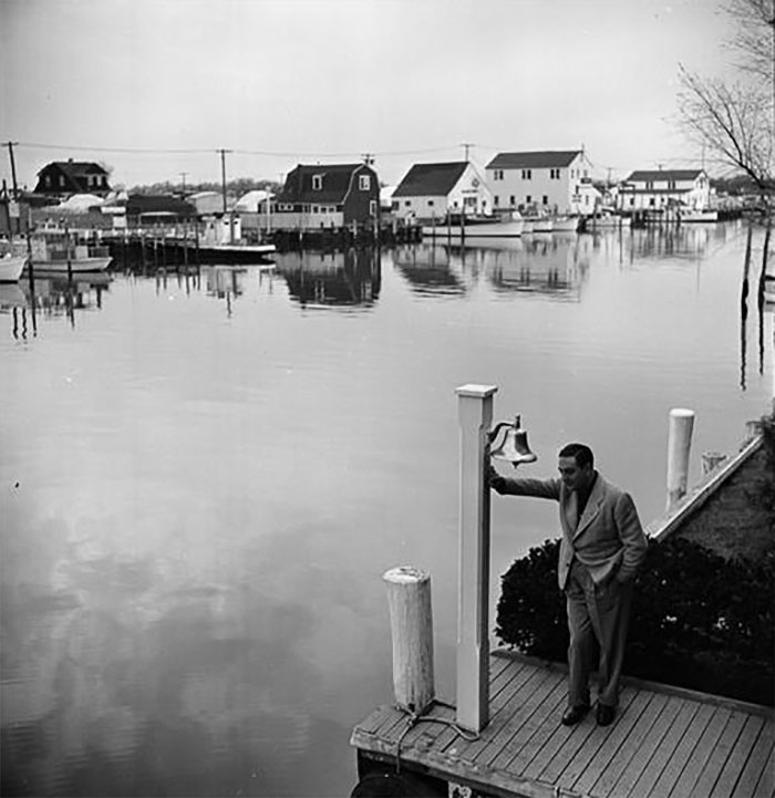 Guy Lombardo On A Dock, 1947-1948