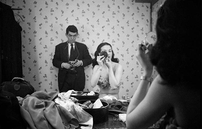 Self Portrait Con Showgirl Rosemary Williams, 1948