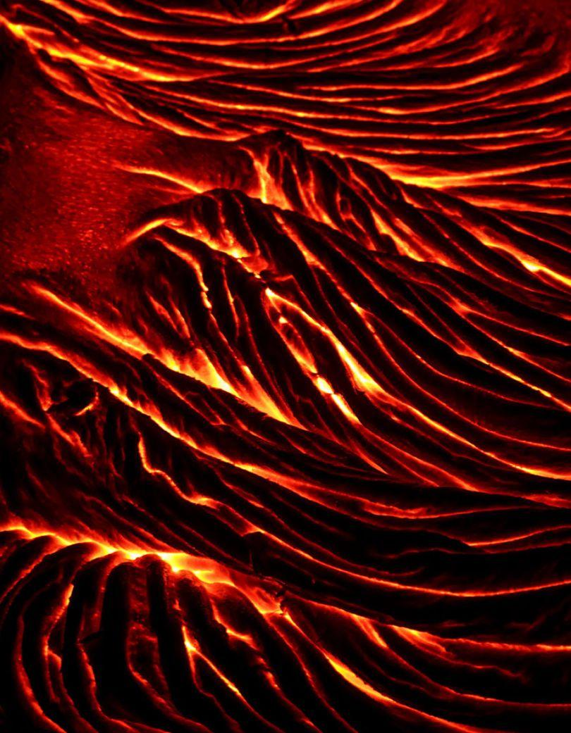 j Kilauea Lava Flows 7 10 2017 35 59f8c803e6007  880 - Fotógrafo chega muito perto de lava com o seu Drone