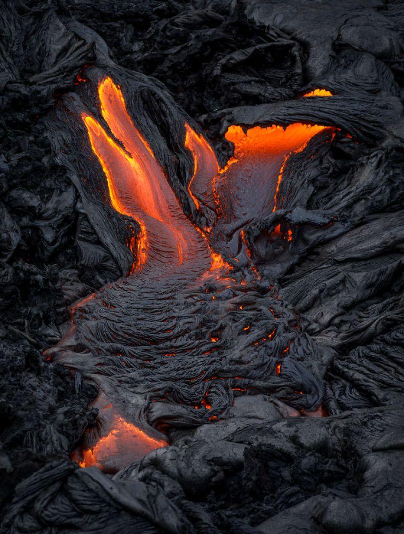 j Kilauea Lava Flows 7 10 2017 st1 59f8c80890189  880 - Fotógrafo chega muito perto de lava com o seu Drone