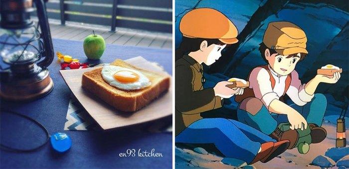 Sandwich From Castle In The Sky