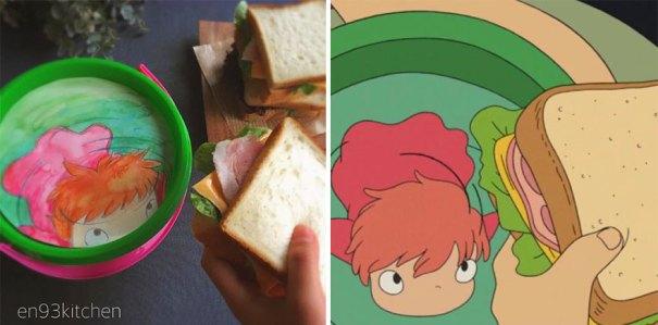 Sandwich From Ponyo