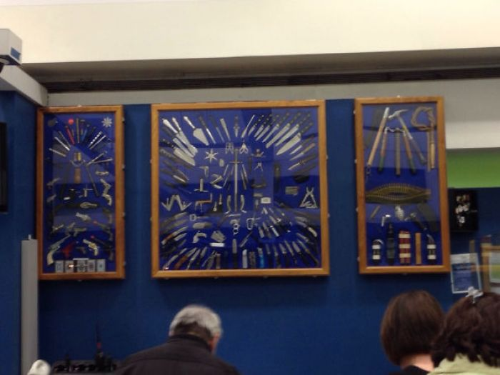 Cleveland Airport TSA's Confiscated Items Hall Of Fame