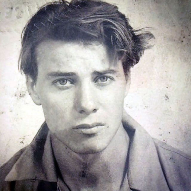 Mi Abuelo El Día Antes De Embarcarse Con Los Marines, 1941