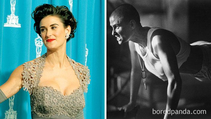 increíbles transformaciones de actores