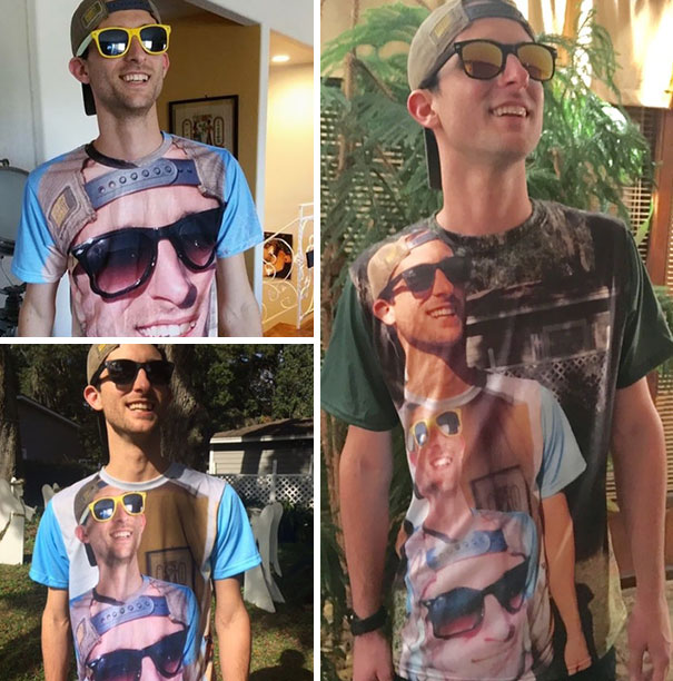 """""""Shirtception"""" - My Favorite Christmas Gift Every Year From My Brother. Right Now We're At Level 3"""