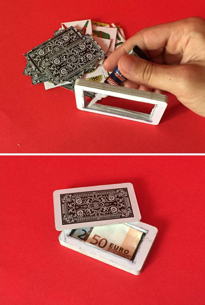 En una baraja de cartas