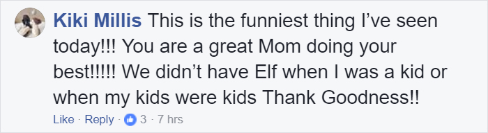 mom lies christmas elf shelf brittany mease 19 5a3a213700f8c  700 - Mom's Lies About The Elf On The Shelf Backfire Hilariously