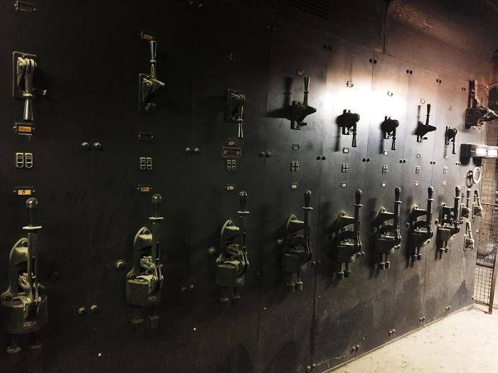 This Building Has The Original 1909 Electrical Switches