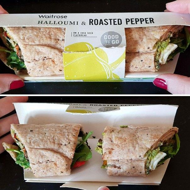 This Deceiving Sandwich Packaging
