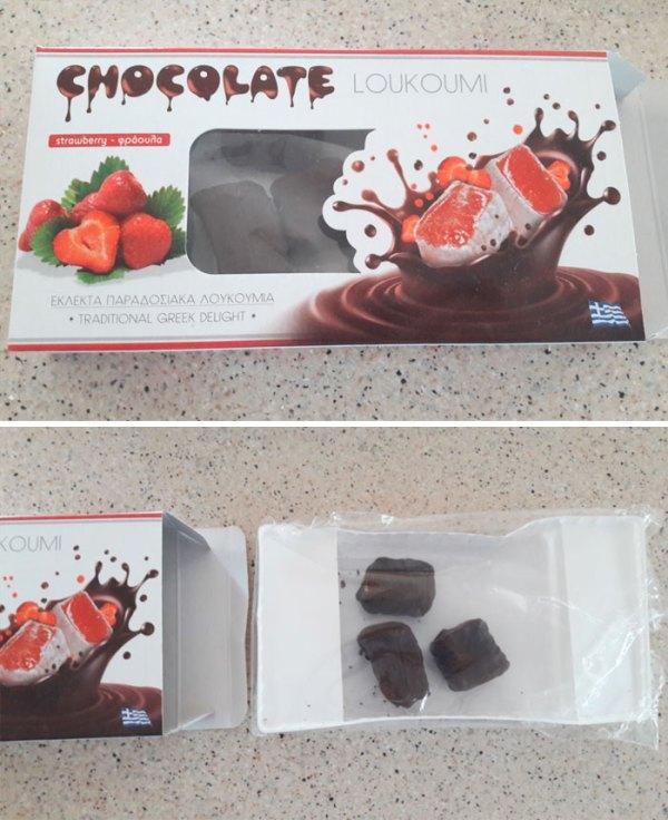 Great Taste, Not So Great Packaging