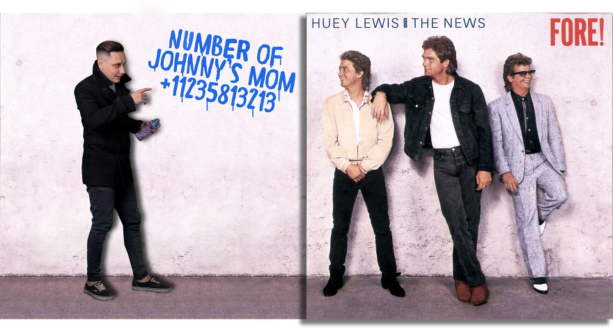 Huey Lewis And The News - Fore! (1986)