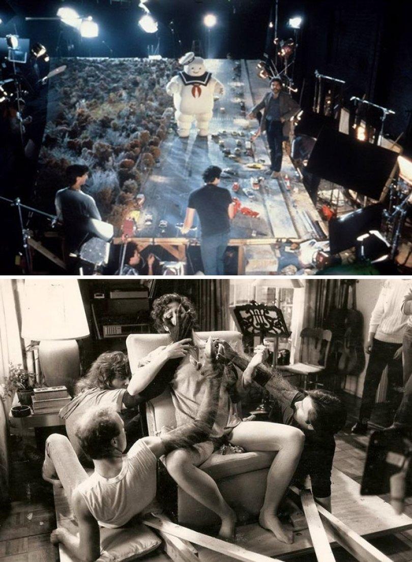 movies behind the scenes 106 5a69a8cb5ba39  700 - Por trás das cenas: Foto dos bastidores de filmes que marcaram época