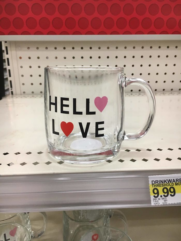 They're Rolling Out The Valentine's Day Stuff Early At Target, But I Don't Think They Really Thought This One Through