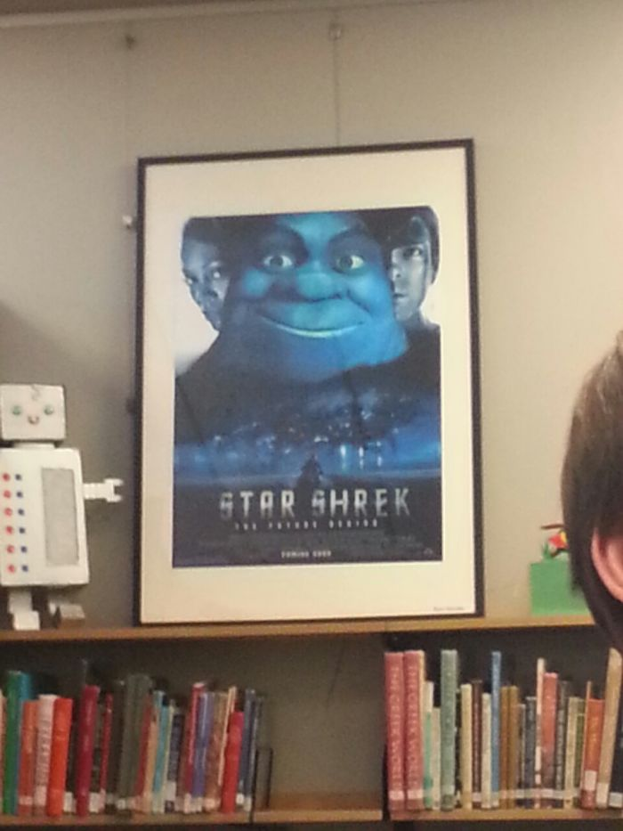 This Is On A School Library
