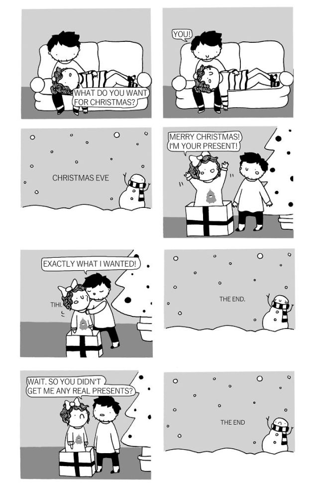 CHRISTMAS-5a7a15266e109__700 35+ Little Wholesome Comics Inspired By My Relationship With My Boyfriend And My Daily Struggles Design Random
