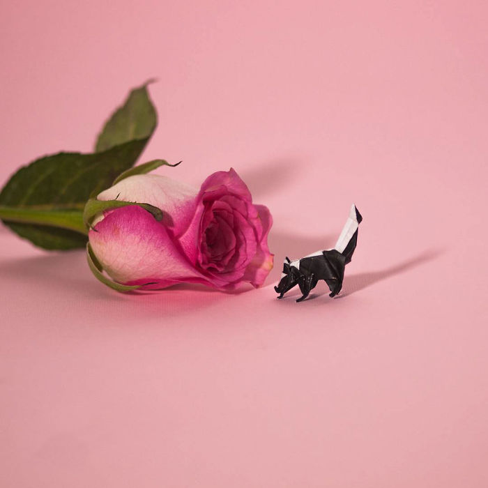 Miniature -Origami-Figures-Ross-Symons