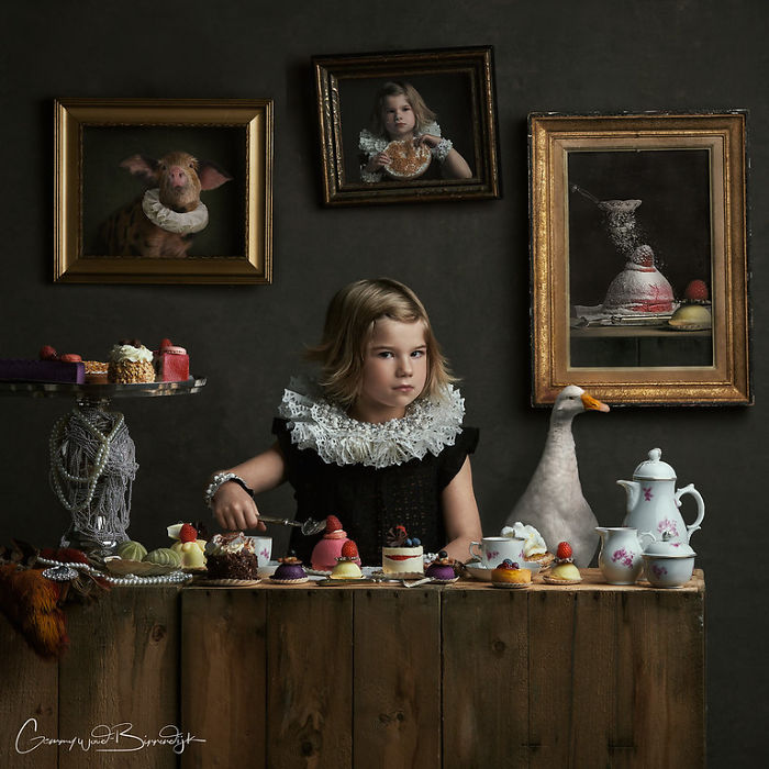 Photographer Creates Beautiful Photographs That Look More Like Old Paintings