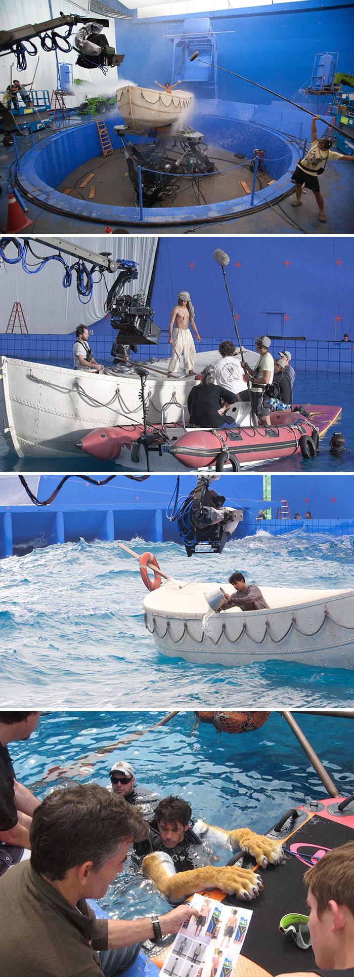 movies behind the scenes 34 5a8c32b5bf111  700 - Por trás das cenas: Foto dos bastidores de filmes que marcaram época