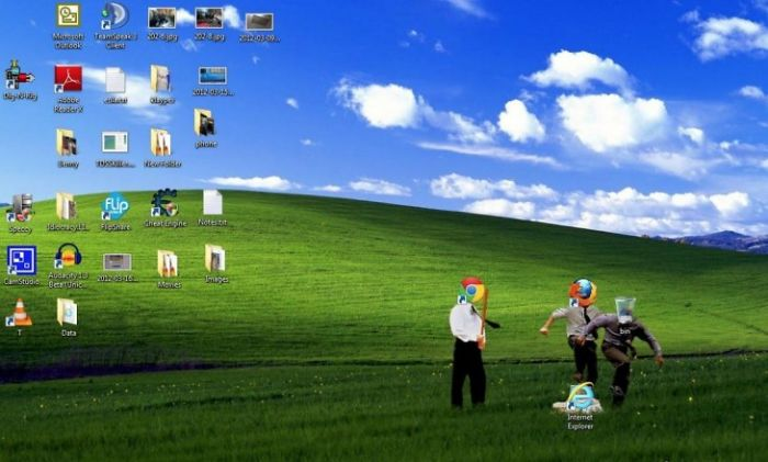 Funny Internet Explorer Desktop Picture