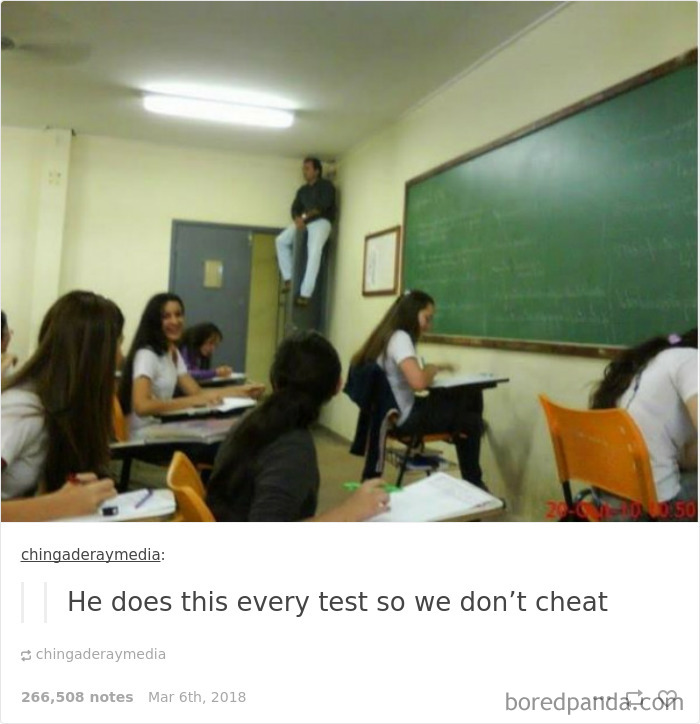 He Does This Every Test So We Don't Cheat