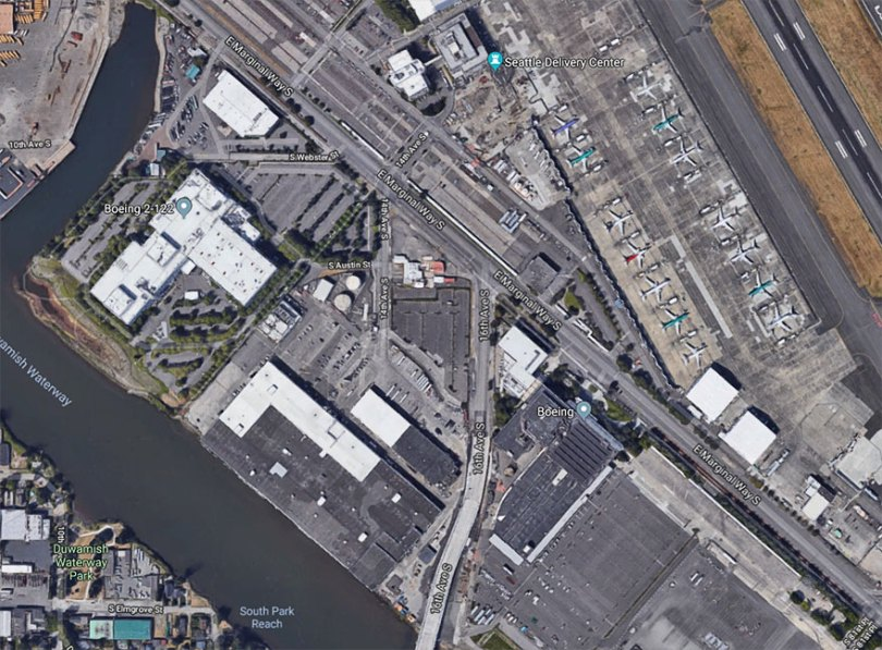 "boeing fake rooftop town world war seattle 26 5aa655847e696  880 - 2ª Guerra: EUA projeta um ""bairro falso"" para eliminar possíveis ataques aéreos"