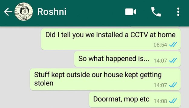 caught-doormat-robber-roshni-1 Guy Installs Secret Camera To Catch The Thief That Keeps Stealing His Things, Can't Believe His Eyes Design Random