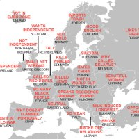 Map Reveals What Chinese People Think About Different European Countries, And It May Offend You