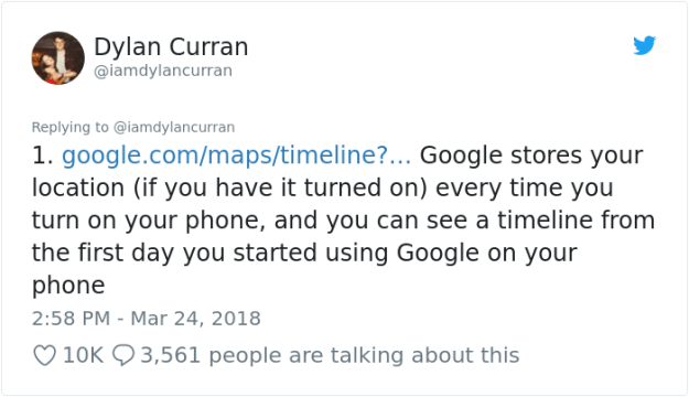 facebook-google-data-know-about-you-dylan-curran-2 The Internet Is In Shock After This Guy's Post Reveals How Much Facebook And Google Knows About You Design Random