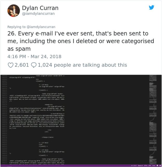 facebook-google-data-know-about-you-dylan-curran-23 The Internet Is In Shock After This Guy's Post Reveals How Much Facebook And Google Knows About You Design Random