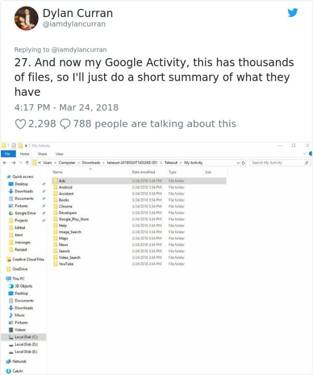 facebook-google-data-know-about-you-dylan-curran-28 The Internet Is In Shock After This Guy's Post Reveals How Much Facebook And Google Knows About You Design Random