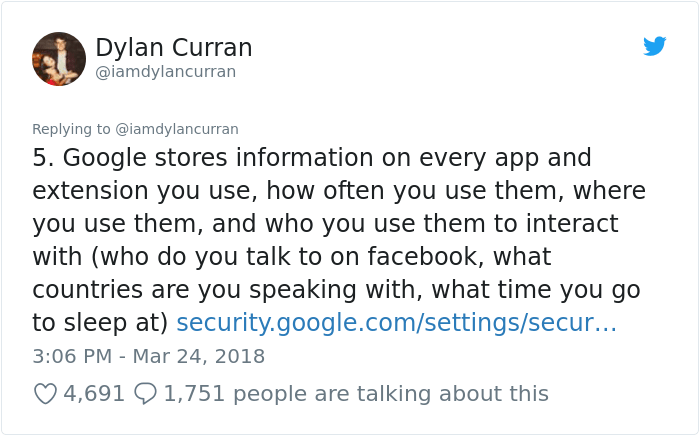 facebook-google-data-know-about-you-dylan-curran-6 The Internet Is In Shock After This Guy's Post Reveals How Much Facebook And Google Knows About You Design Random