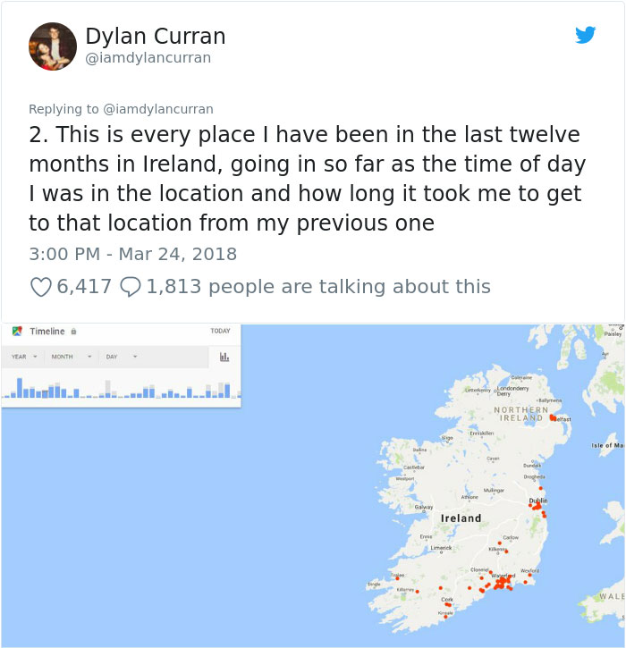 facebook-google-data-know-about-you-dylan-curran-9-1 The Internet Is In Shock After This Guy's Post Reveals How Much Facebook And Google Knows About You Design Random