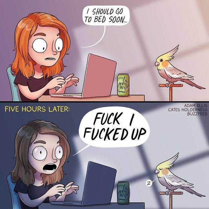 funny-comics-adam-ellis-68-5abddbd5a0dd9__700 Comic Artist Adam Ellis Has Quit Buzzfeed, And Here Are 20+ Of His Funniest Comics Design Random