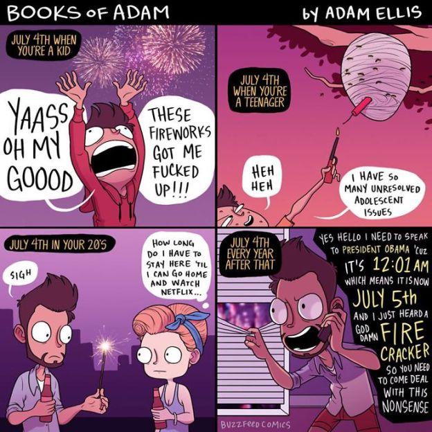 funny-comics-adam-ellis-95-5abddc0dc082b__700 Comic Artist Adam Ellis Has Quit Buzzfeed, And Here Are 20+ Of His Funniest Comics Design Random
