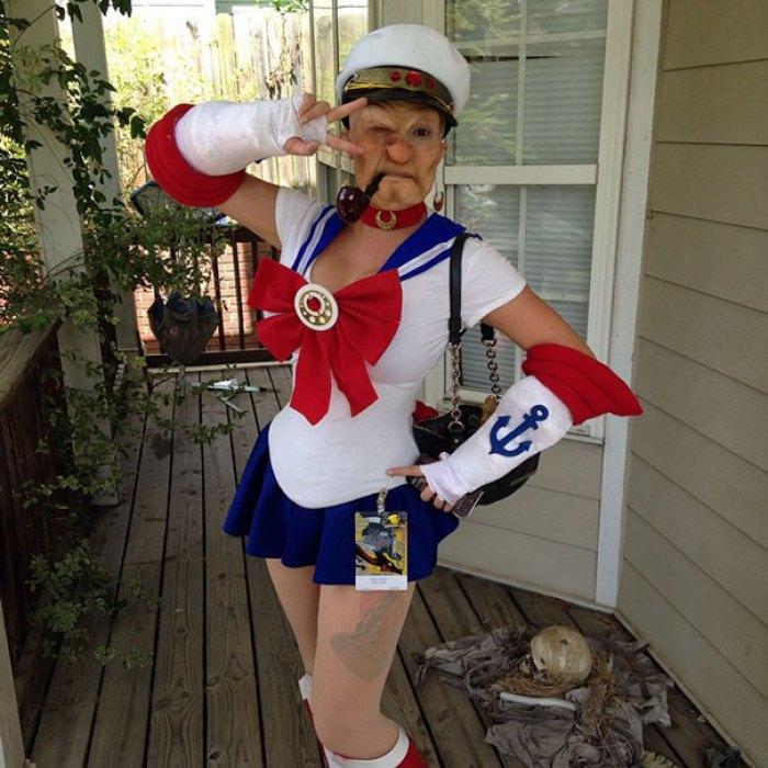 Popeye The Sailor Moon