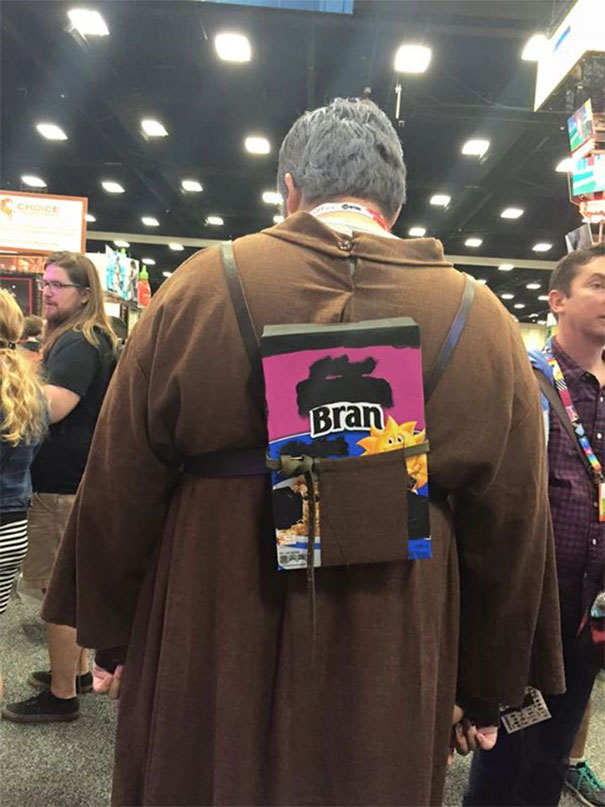 My Friend Found The Best Hodor Cosplay At SDCC