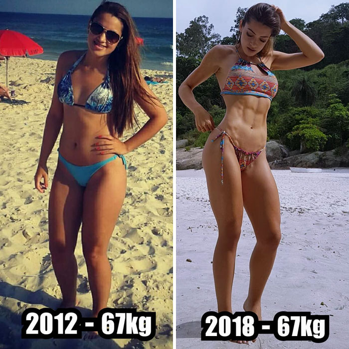 same-weight-fitness-incredible-transformations17-5aab97351870d__700 28 Before & After Photos That Prove Your Weight Is Meaningless Design Random