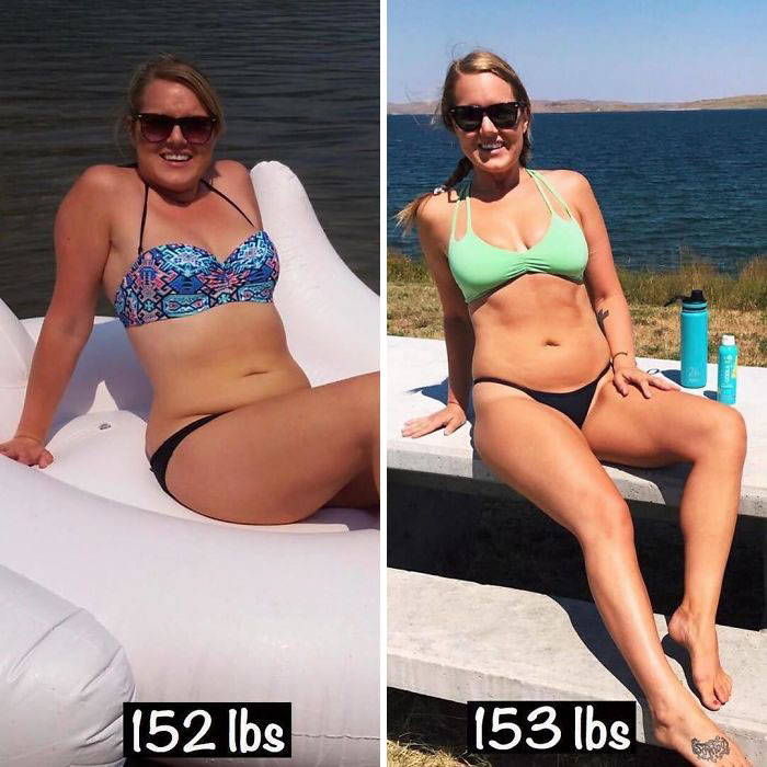 same-weight-fitness-incredible-transformations21-5aab9914b35dd__700 28 Before & After Photos That Prove Your Weight Is Meaningless Design Random