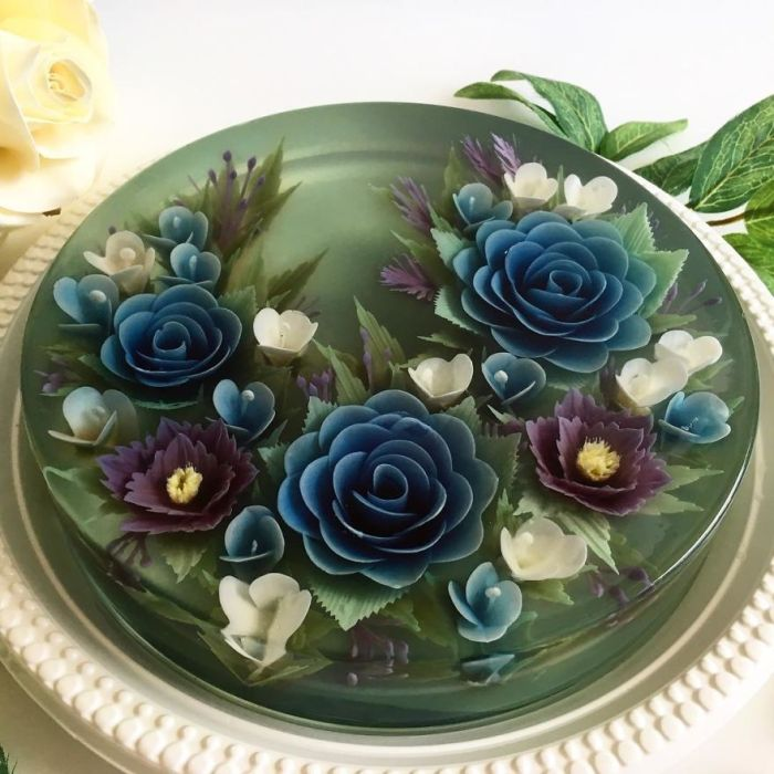 Blue Camellias Using Blue Butterfly Pea Flower