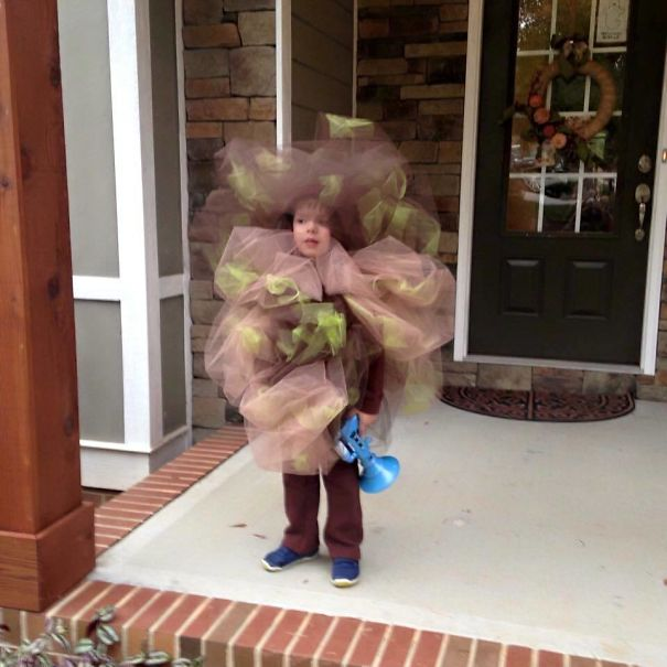 This Kid Was A Fart For Halloween